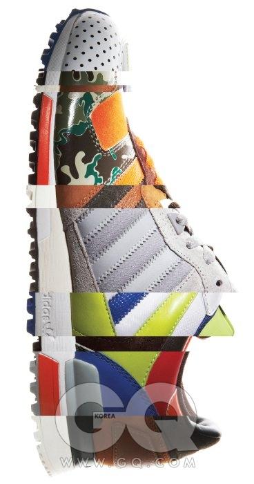 아디다스 마이 오리지널스 ZX700 1980년대 뉴욕의 운동화 마니아들은 상상이나 했을까? 세밀하게 쪼갠 신발의 세부를 하나하나 골라 살 수 있는 신발 가게를. 마우스로 클릭 몇 번하면 지구에서 나만 갖고 있는 신발을 가질 수 있다는 건, 2010년식 행복이다. 12만9천원