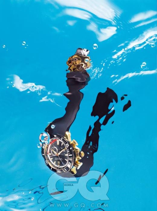 요트 타이머, GMT 시스템이 장착된 시계 '액티브' 50만원대, 로만손.