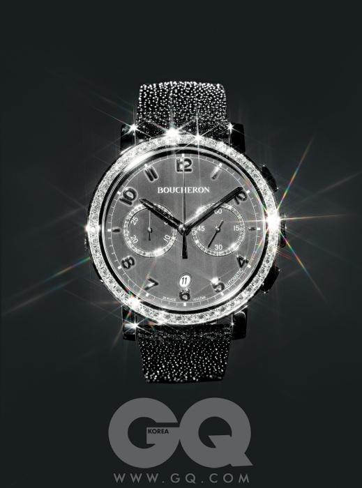 1950년대 파리 생 제르망 지역에서 영감을 얻어 만든 시계 '파남 오토메틱 크로노그래프' 9백만원대, 부셰론.