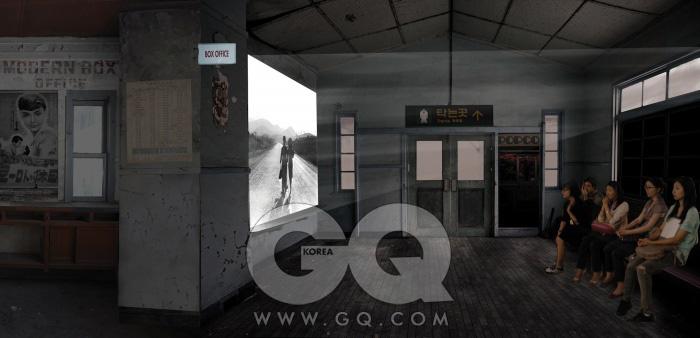 강예린의 제안 - 흑백 사진관과 영화관.