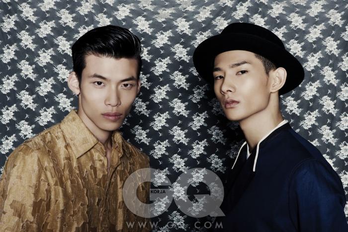 레이스 셔츠 42만5천원, 김서룡 옴므. 재킷 가격 미정, 디올 옴므. 셔츠 가격 미정, 에트로. 모자는 에디터의 것.