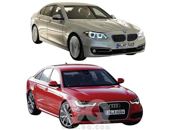 1 BMW 5시리즈 6천20만~1억 1천2백만원2 아우디 A6 5천8백30만~8천2백60만원