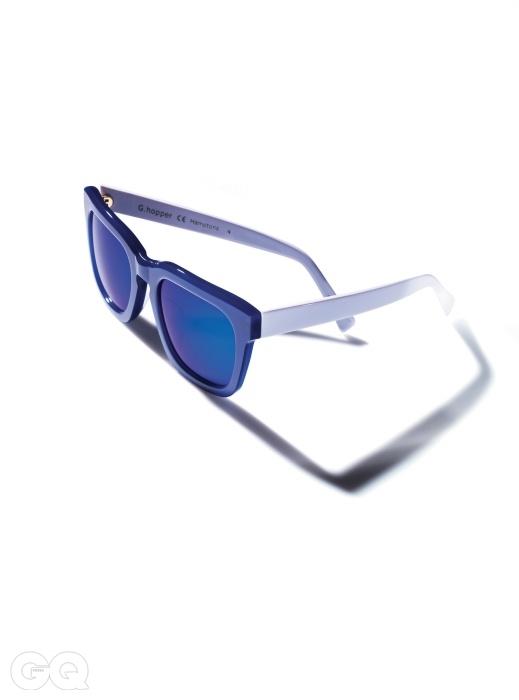햄튼이란 이름의 선글라스 25만원, 지 하퍼.