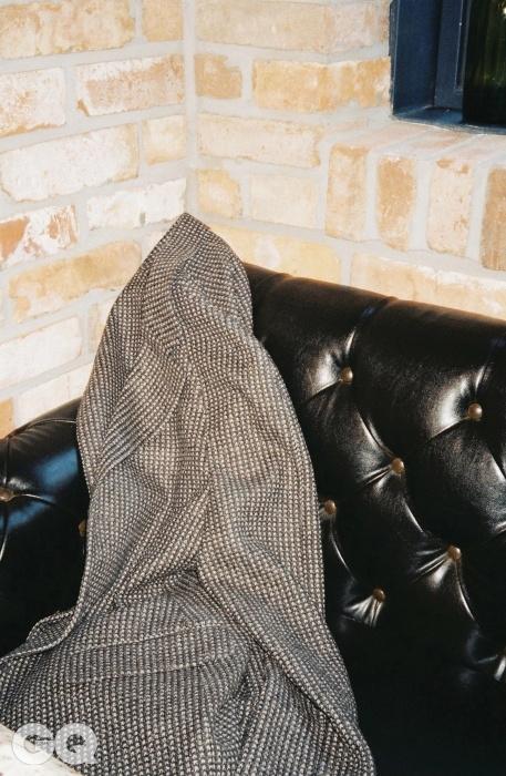 홈스펀 울 재킷, 조르지오 아르마니.