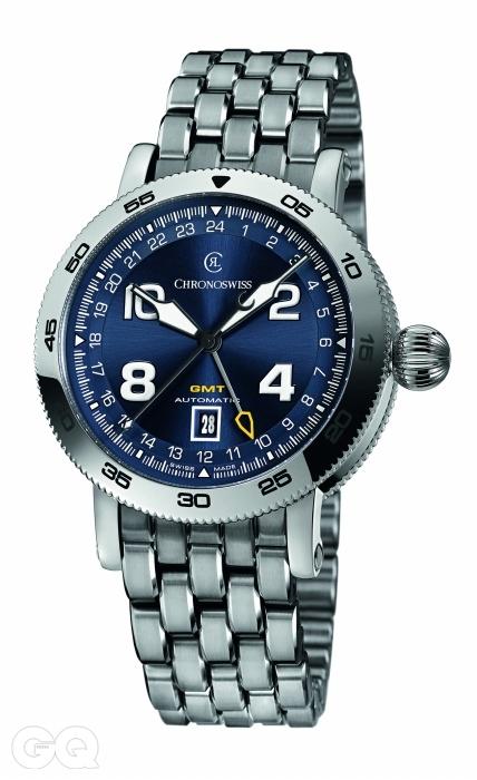 크로노스위스 타임마스터 GMT.