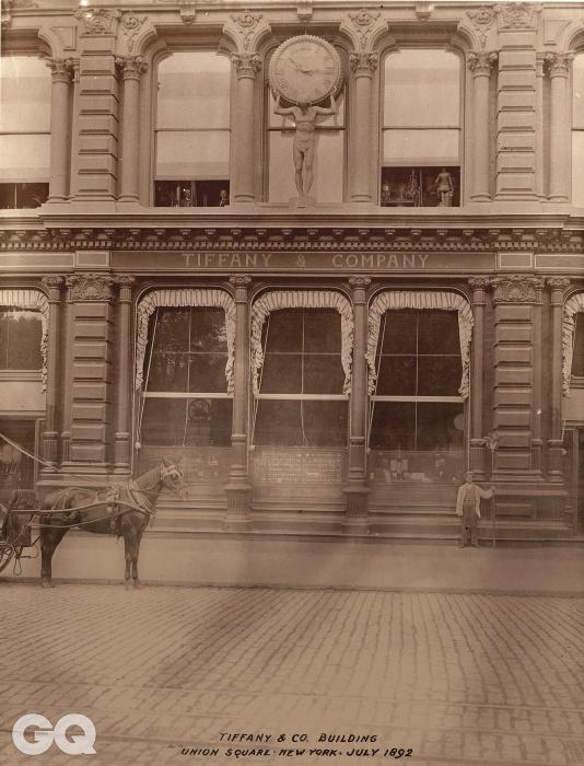 1892년 뉴욕 유니온 스퀘어 티파니 플래그십 스토어