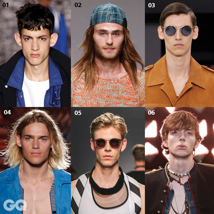 01 Ami02 Julien David03 Louis Vuitton04 Missoni05 Msgm06 Saint Laurent