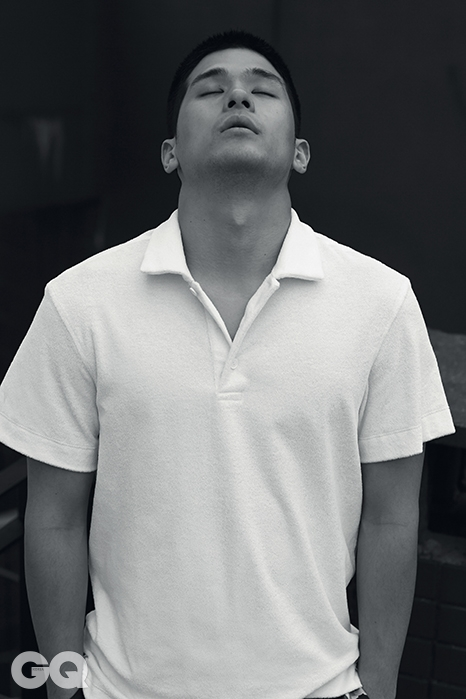 피케 셔츠 39만8천원, 유밋 베넌 by 쿤.