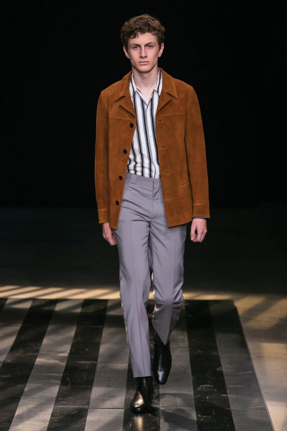 Sandro Homme Fashion Show Menswear Collection Spring Summer 2016 in Paris
