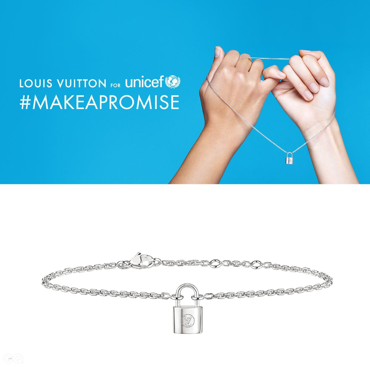 [LV for UNICEF] #MAKEAPROMISE 새끼손가락 약속 제스처_Facebook copy