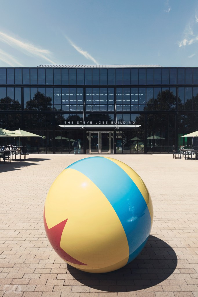 relates to feature, How Pixar embraces a crisis, Business, animation, film industry, large colourful ball