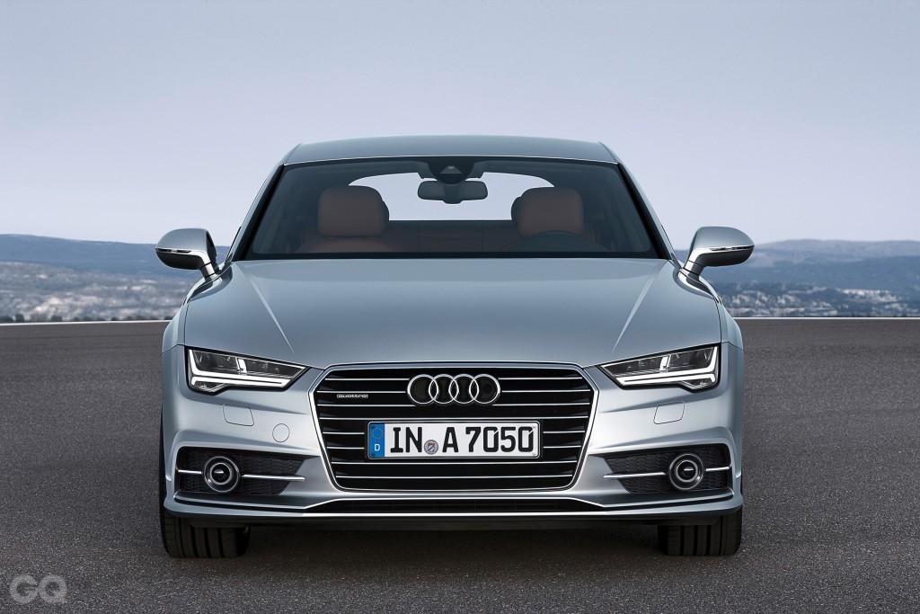 Standaufnahme    Farbe: Florettsilber    Verbrauchsangaben Audi A7 Sportback:Kraftstoffverbrauch kombiniert in l/100 km: 9,8 - 4,7;CO2-Emission kombiniert in g/km: 229 - 122