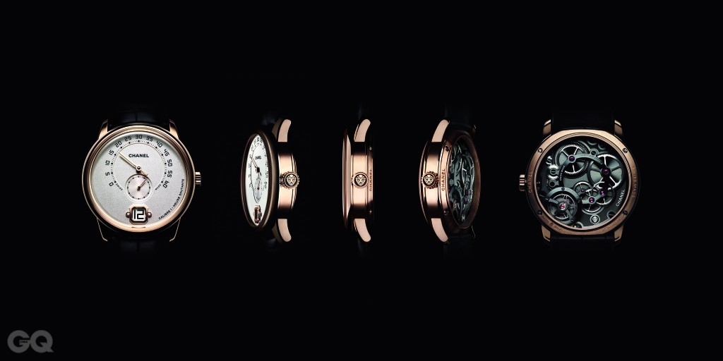 Monsieur de CHANEL watch 5 faces