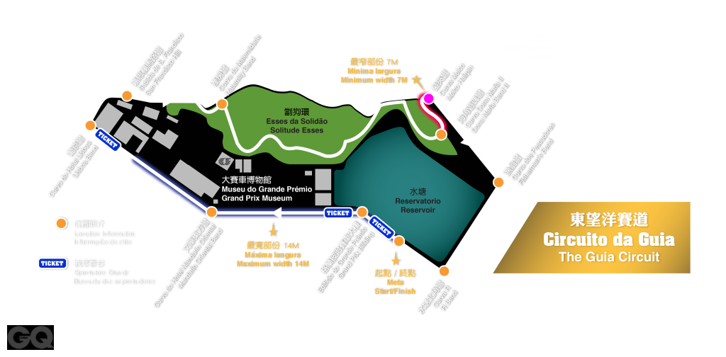 Guia Circuit Map