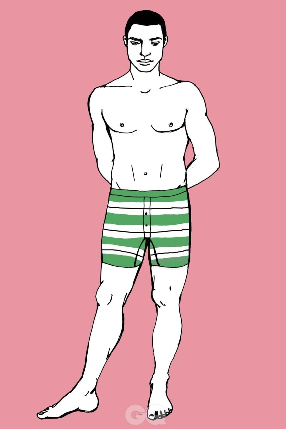 5e82b174331 마른 실루엣의 남성복이 인기를 끌면서 박서-브리프는 많은 남자들이 가장 선호하는 속옷이 되었다. 입었을 때 브리프처럼 너무 티가 ...