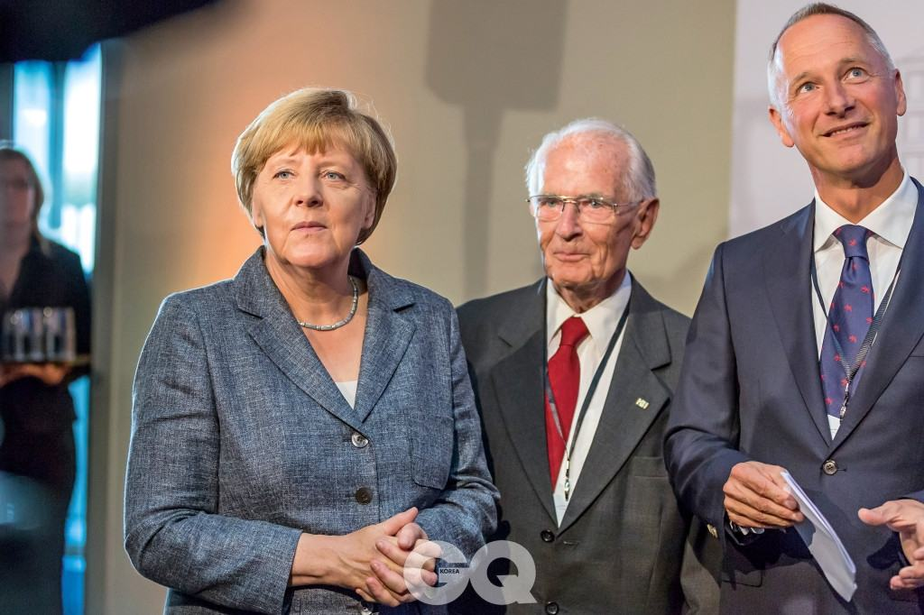 A.LANGE & SÖHNE Manufactory Inauguration 26.08.2015 with Angela Merkel  - Glashuette - Photographer: Ben Gierig