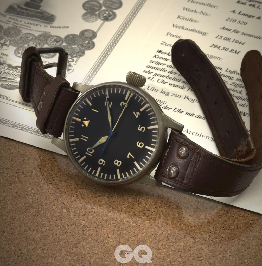 1940년대 랑에 운트 죄네의 B-우렌 모습.