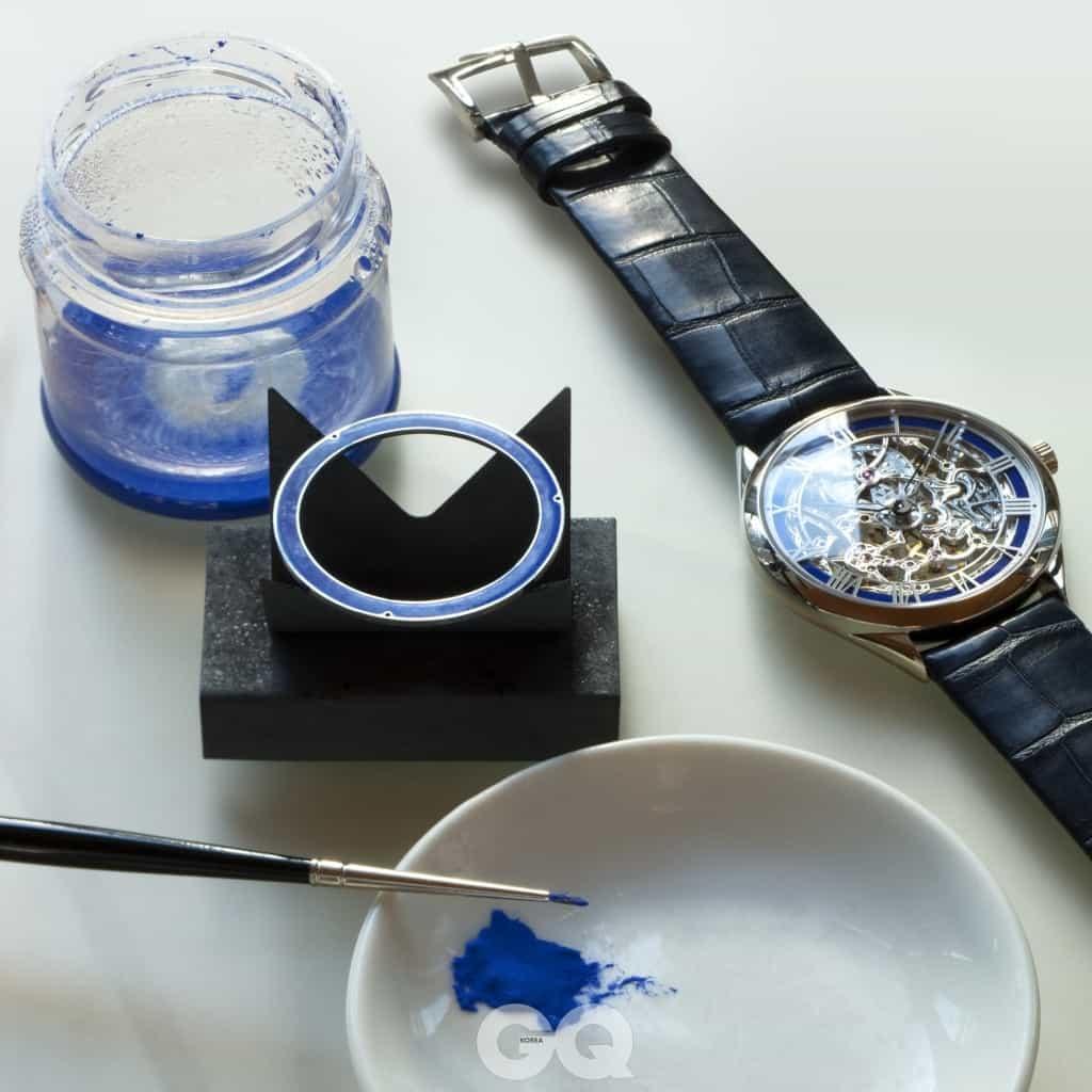 에나멜링은 이러한 재료롤 사용해 칠하고 굽는 과정을 거친다.