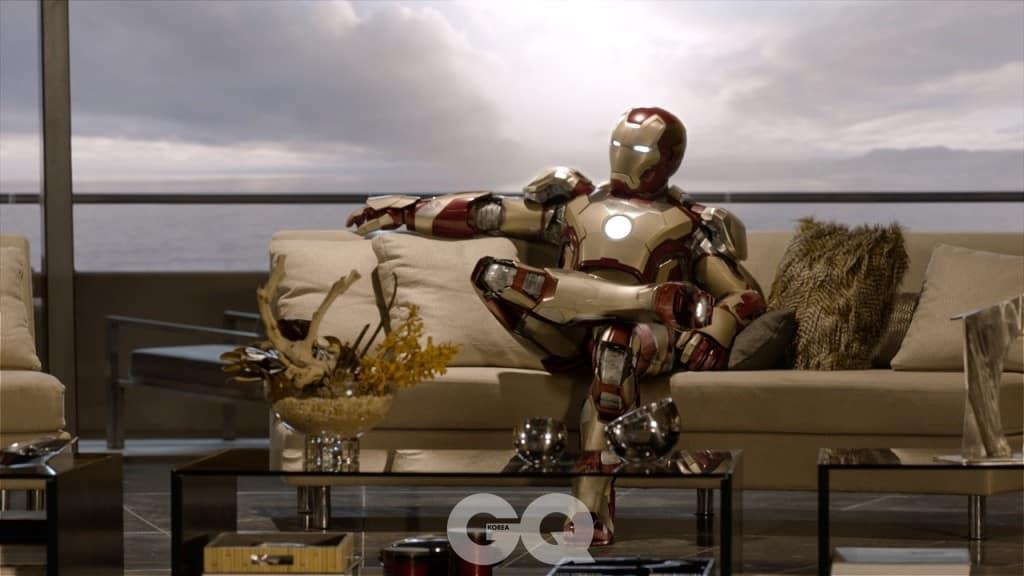"""Marvel's Iron Man 3"" Tony Stark/Iron Man (Robert Downey Jr.) Ph: Film Frame © 2012 MVLFFLLC.  TM & © 2012 Marvel.  All Rights Reserved."