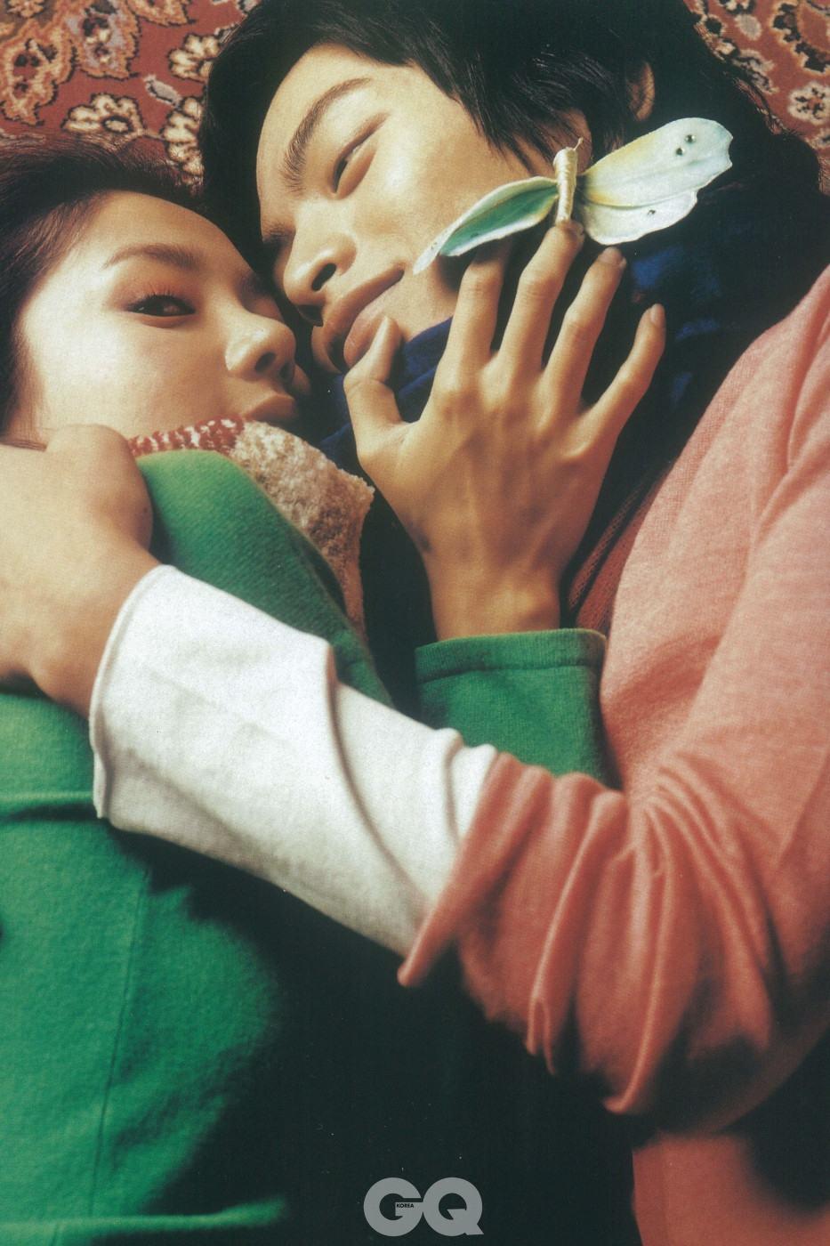 GQ KOREA 2004년 10월 화보 ' Mama's & Papa's in Check'