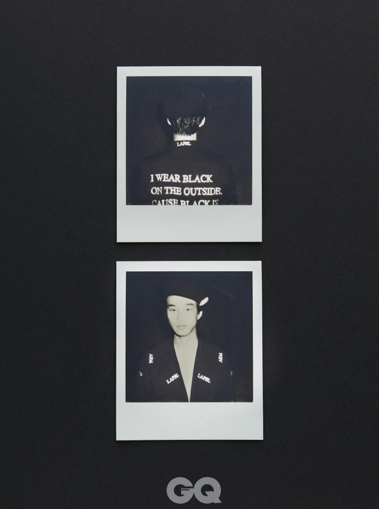 레터링 코트 가격 미정, 크리스찬 다다 by 분더샵. 해피 스타일 베레 3만5천원, 보울러.