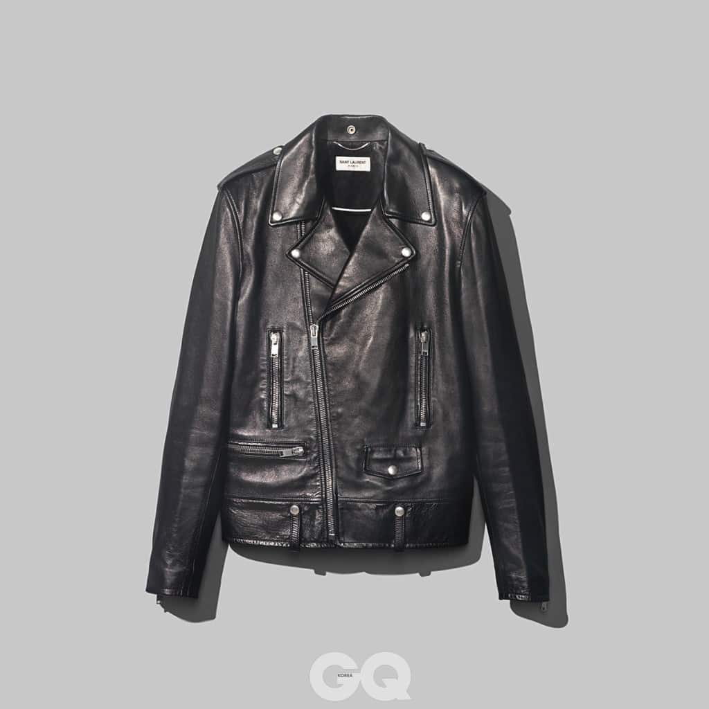 라이더 재킷 가격 미정, 생 로랑.