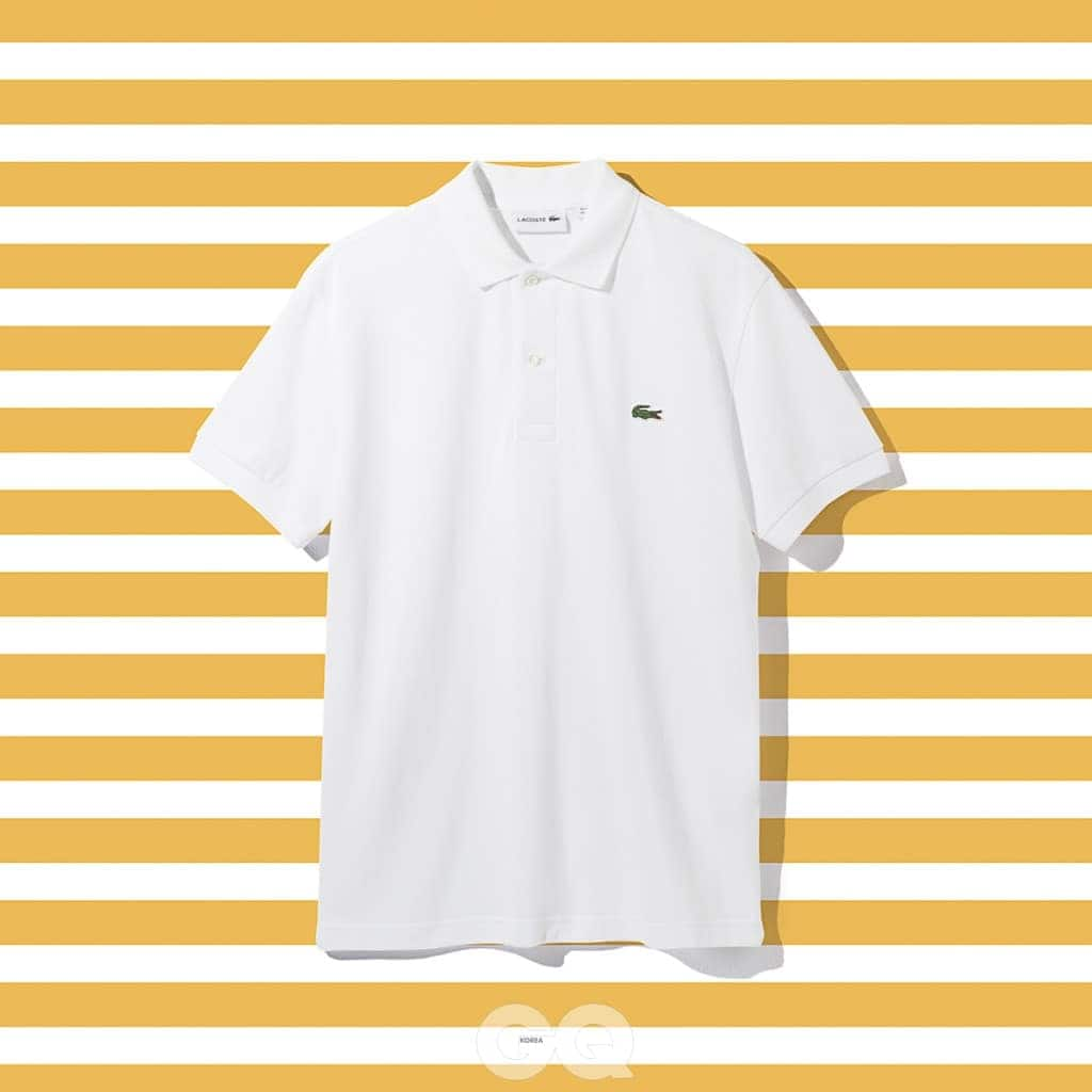 폴로 셔츠 11만9천원, 라코스테.