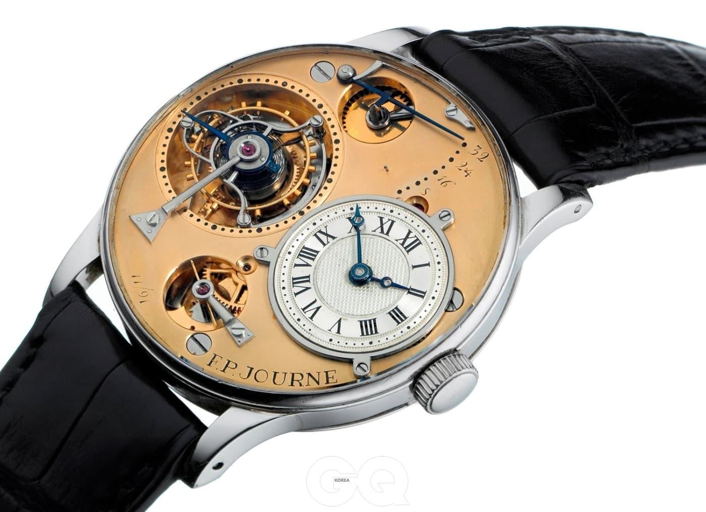 1991년에 발표한 프랑수와 폴 주른의 첫 번째 손목시계.