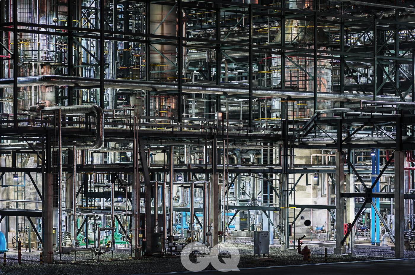 석유 화학 공장(대한유화).