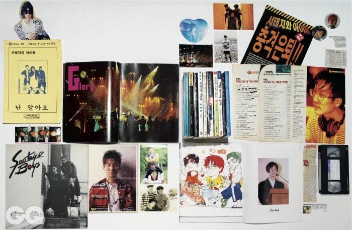이 컬렉션은 1992년부터 지금까지 서태지와 아이들을 사랑하는 카페 '버닝 하트' 운영자의 것이다.