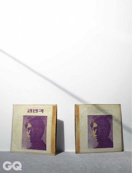 김민기 1집 초반은 에디터 소장품.