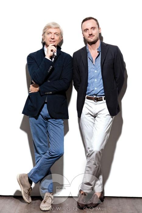 (왼쪽이 마리오, 오른쪽은 마르코)