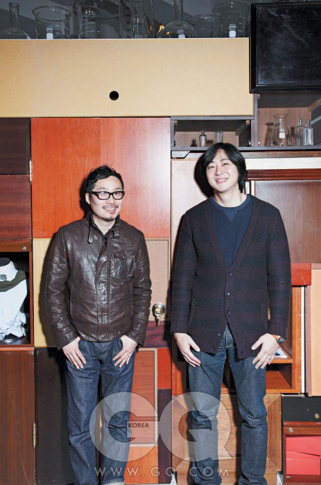 전정훈(왼쪽), 장승욱(오른쪽)