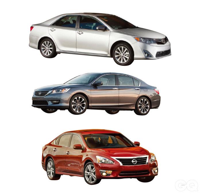 2013 토요타 캠리 3.5 가솔린 4천2백70만원 혼다 어코드 3.5 가솔린 4천1백90만원 2014 닛산 알티마 3.5 3천7백50만원