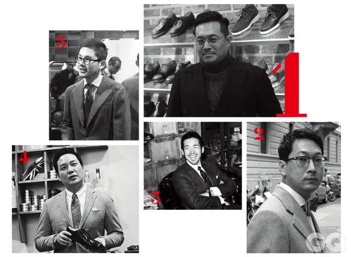 1. 한태민 2. 남훈 3. 강재영 4. 임준영 5. 곽호빈
