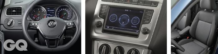 인테리어내관은 아주 고급스러워졌다. 이전 모델에서 아쉬웠던부분을 꼼꼼하게 메웠다. 6.5인치 멀티컬러 터치 스크린 디스플레이, SD카드, CD와 MP3, AUX와 USB, 블루투스까지 지원한다. 운전석과 조수석에는 열선이 깔려있다.