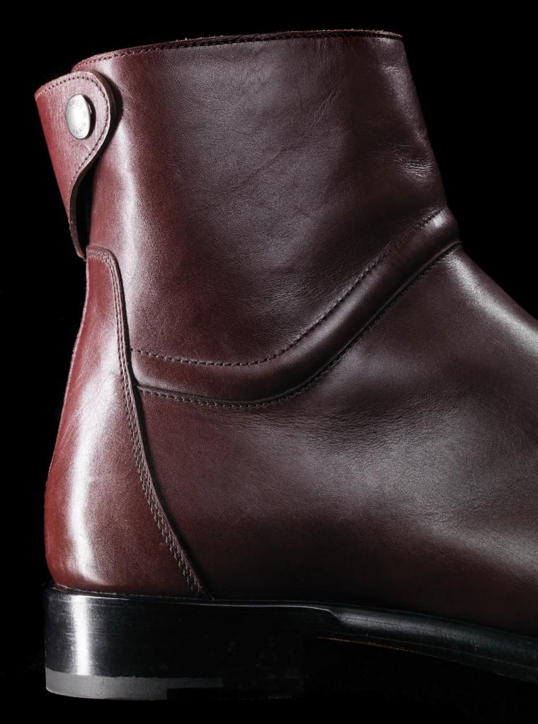 HERMÈS - Calfskin Ankle Boots