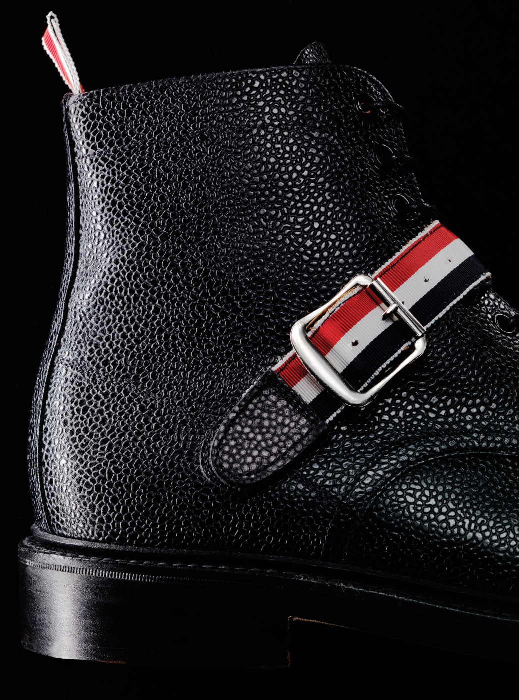 THOM BROWNE - Buckle Strap Boots
