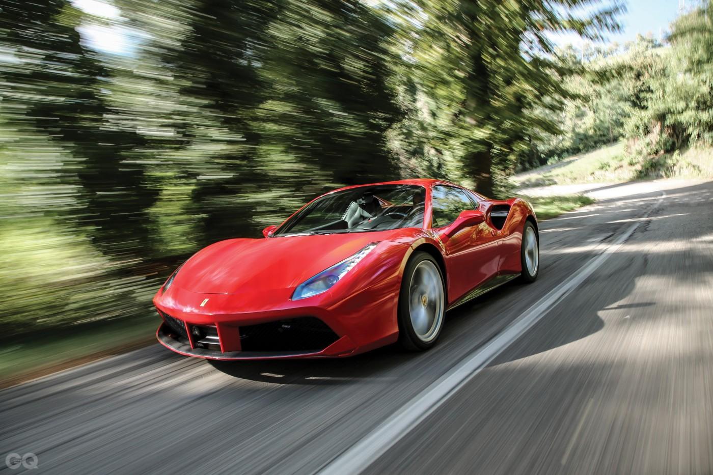 Ferrari 488 Spider red 008