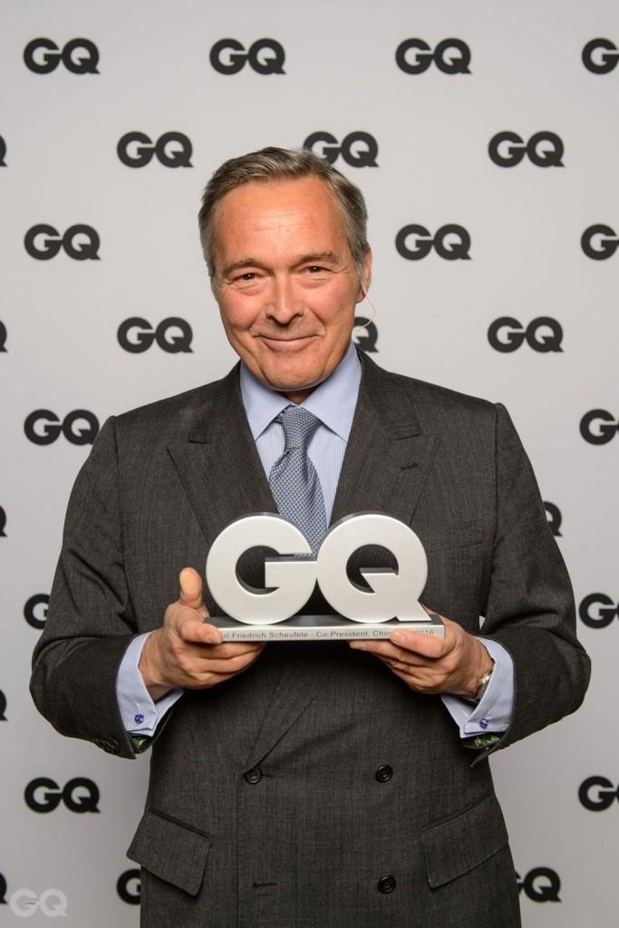 GQ Lifetime Award 수상자, 칼 프리드리히 슈펠레 쇼파드 공동 CEO