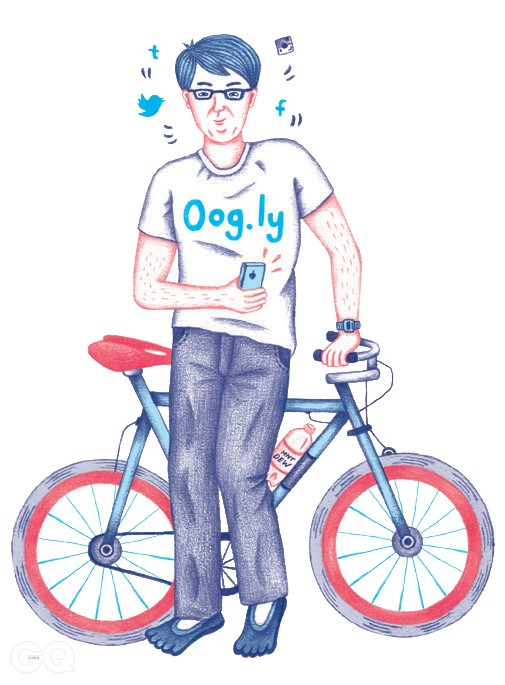Company tee for a revenue-less start-up whose name ends in ¡°.ly¡±Expensive commuter bike20-oz. Mountain Dew, free from the office break room¡°Barefoot¡± shoes