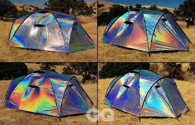 4 열기 텐트