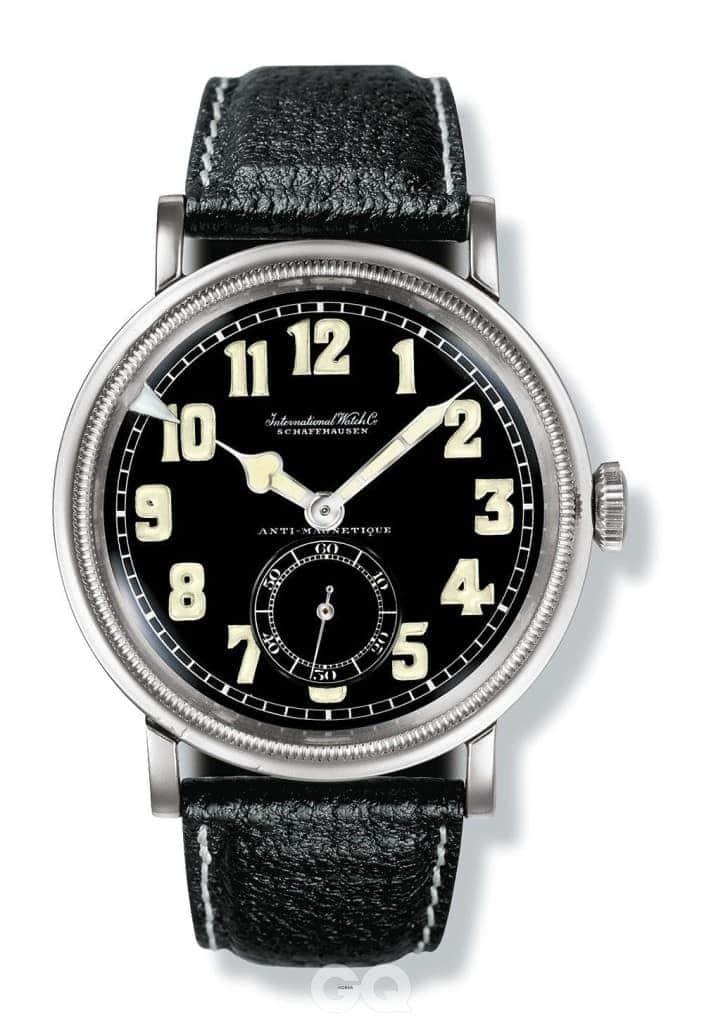 IWC 최초의 파일럿 워치인 마크 9. 1936년에 탄생했다.