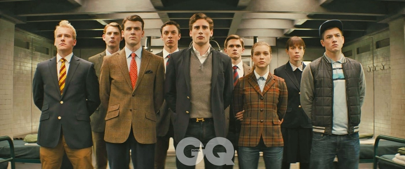 young recruits for training in KINGSMAN THE SECRET SERVICE (1)