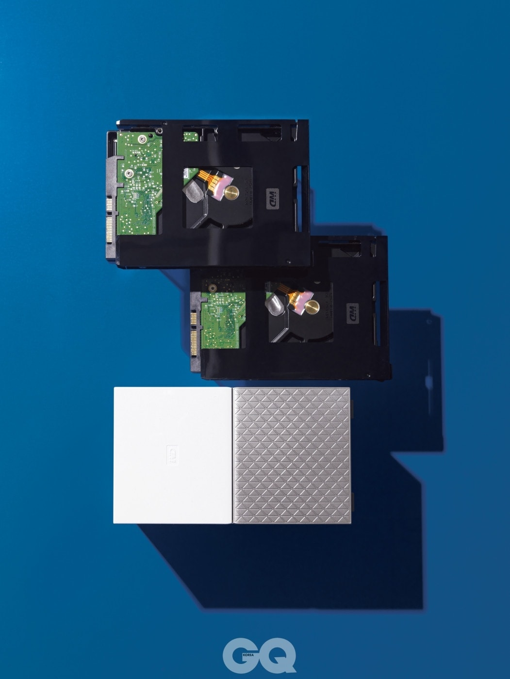 외장 하드와 USB를 본체에 직접 연결할 수 있도록 지원하는 외장 네트워크 하드 케이스 마이 클라우드 홈은 8기가바이트 하드디스크 포함 최저가 42만원대, WD.