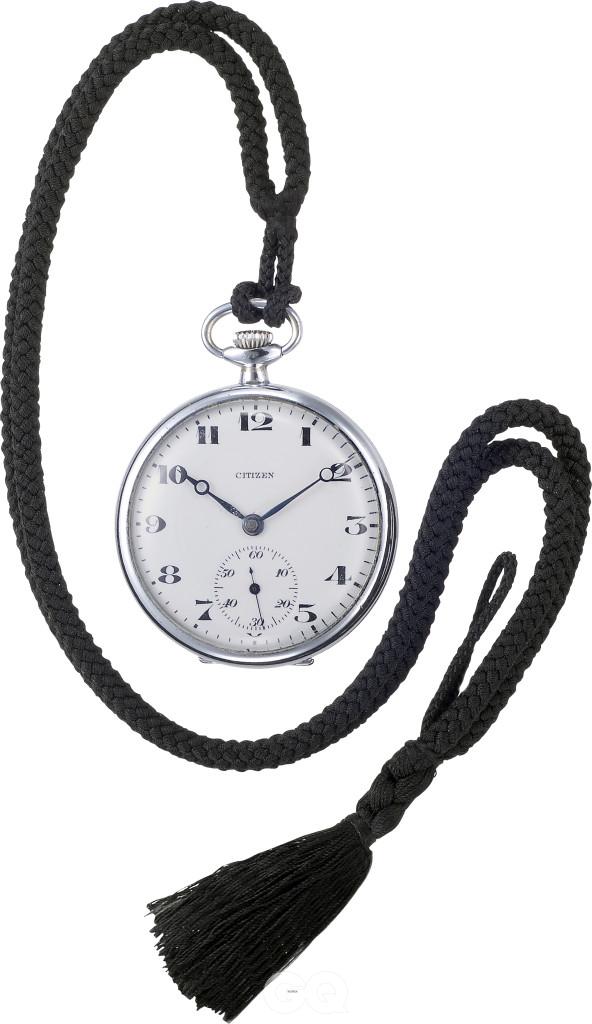 1924년 발표한 회중시계 '시티즌'. 이 모델의 생산을 계기로 쇼코샤는 브랜드 이름을 시티즌으로 변경했다.